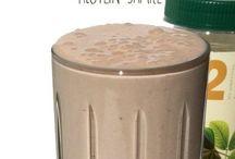 protein shakes/smoothies