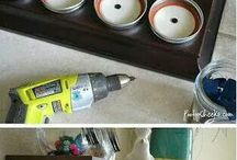 Organization / Putting stuff away / by Krystal Moreno