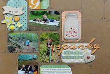 scrapbook ideas / by Heather Gross