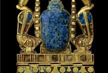 EGIPCIAN JEWELRY / Diferent jewelry pieces from this culture, and their gods