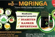 BIO MORINGA / Bio3 Series Moringa (The Miracle Tree of Life) merupakan produk baru yang mengandung 3 bahan seperti daun kelor, daun sirsak dan kulit manggis yang semuanya berguna untuk kesehatan tubuh kita dan memulihkan serta meningkatkan kekebalan tubuh / by BIOACTIVA JAMU TETES