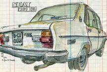 SEAT Sketch & Illustration / Seat Art Illustration