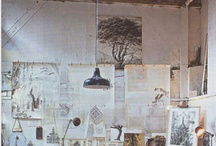 Studio, Ridge Farm / Gathering inspiration for a studio make over