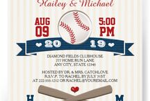 Sports Themed Engagement Party