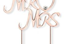 Rose Gold Wedding Products