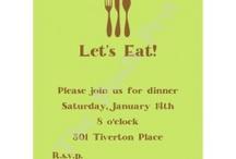 Birthday Ideas / Cakes / Dinner Party
