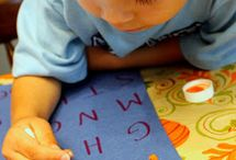 Language materials - Montessori / Language materials provide for vocabulary enrichment, language training and the development of writing and reading. A child's development of language is an important step for her on the road to independence. Language allows the child to express herself and to communicate with others; it helps her bring her previously unconscious experiences to the conscious level. Language also helps the child expand her mind for words and thoughts are the expressions of the mind.