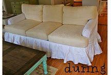 Omklädning möbler