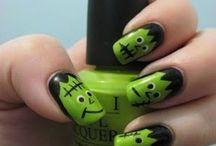 Halloween Nail Polish Designs / Ideas for Halloween nail designs.