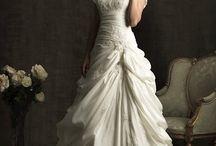 Square Neckline Bridal Gowns