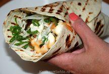 Burrito of wraps