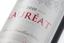 01. PACKAGING - LAUREAT PACKAGING / Wine label design and gift box