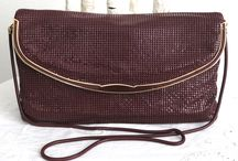 Vintage mesh handbags and purses / All sorts of mesh bags from the past.