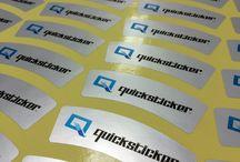 Tetoron Silver Sticker / 데드롱 스티커는 은색, 금색, 투명 등 다양한 종류가 있습니다.