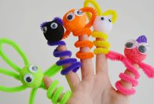 Ian - Pipe Cleaners / Fun with pipe cleaners.  / by Cynthia Willhite