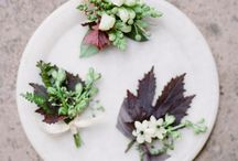 Boutonnieres / Floral & Greenery Boutonniere Inspiration
