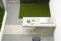 Fake grass garden ideas