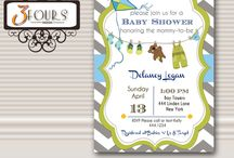 Baby Showers / Baby Showers / by Three Fours Design