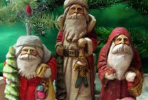 Santa Carvings / by Vicki Willms
