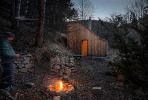 Cabins, tents, cottages, domes... / by Leo Martínez