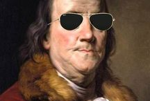 Ben Franklin's Wisdom / America's hero and especially mine. He won our independence by convincing France to join with us against the British. Without the French fleet's arrival the revolutionaries would have been defeated at Yorktown.