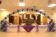 Quinceanera Party Ideas / Make a memorable Quinceanera.  Beautiful table and venue decorating ideas.