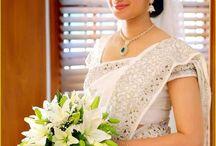 Christian Weddings sarees