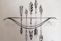 • bow and arrows •