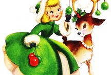1900's - 1960's Christmas Cards / by Patricia Miller