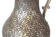 Osmanlı el sanatları...Bakır işlemeler