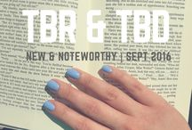 TBR, etc. / Pins from my blog. Book reviews, books that are TBR for the month, recommendations, and lists.
