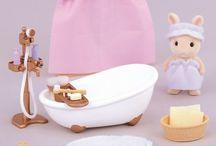 Sylvanian Families Zestaw do Kąpieli / Wyjątkowe zabawki dla dzieci marki Sylvanian Families