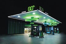 petrol station  design