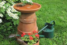 Backyard - Gardening and Bird Baths / by Shari Thomas Harvey