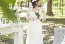 Wedding forest photoset with fireplace
