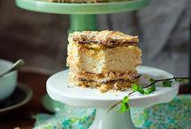PUDDING CAKE / CIASTA BUDYNIOWE / KREMOWE / by Ela Janiak