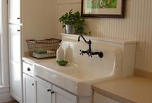 Laundry Room at Lake / by Betsy Manley
