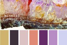 Colors combination / Colors in harmonization for designing inspirations.