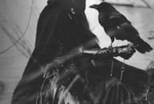 dáma v černém