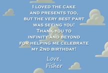 J's 3rd Birthday