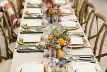 Fall Party Decorating Ideas / Fall Party Decorating Ideas - Fall Tablescapes, Fall Table Settings, Fall Floral Arrangements, Fall Buffet Set Ups, etc...