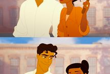 My dream wouldn't be complete without you in it. / Tiana.