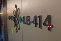 İnterior Signage / Hotel Signage, Plaza Signage, School Signage