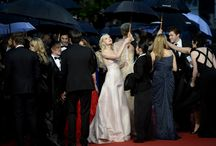On the red carpet at the 2013 Cannes Film Festival