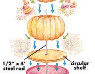 Pumpkin Topiaries
