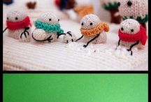 «Knitting•Crochet•Felted•Textile....made» / Strik•Hækling•Filtning•Stof.... All kind of small stuff....