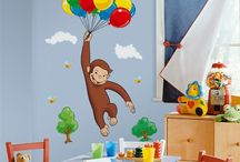 Curious George Room / by Charity Bronander-Bearden