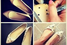 DIY: Add Some Sparkle / DIY some style with your shoes, socks and tights
