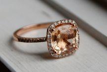 Rosey... / Stunnin rose gold rings!