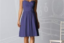 Bridesmaids! / For my bridesmaids!  I posted a sample dress, but we understand if the color won't be exactly the same in other dresses.  If you three can find a dress that is close to the color, that would work just as well.  :)